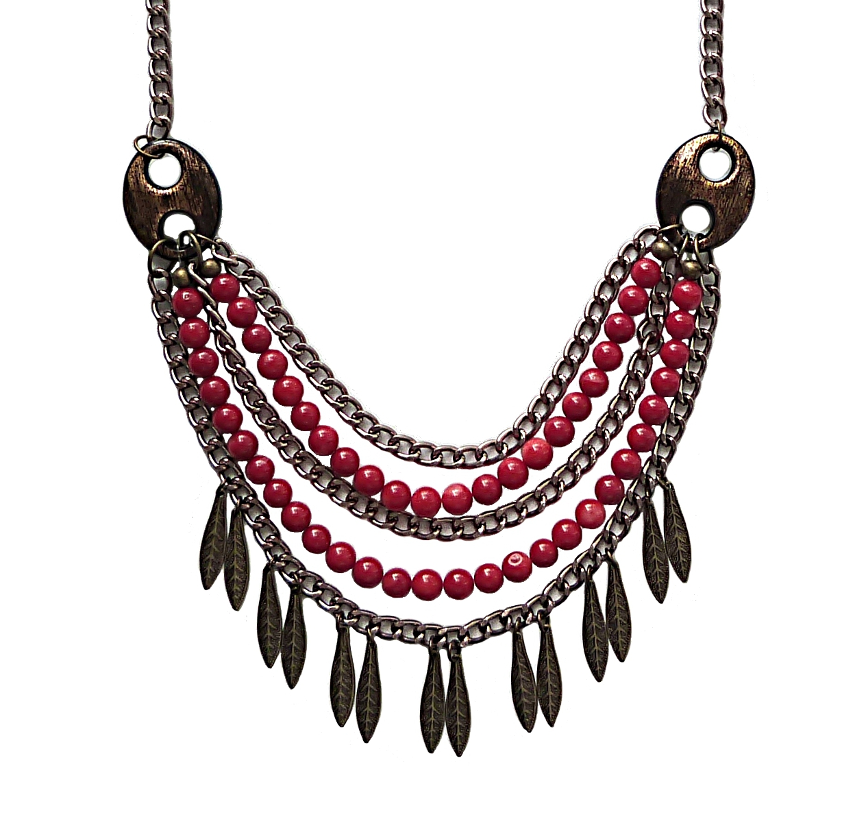 product fashion street gisel bordeaux necklace necklaces online chic pendant jewelry high buy